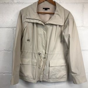 Theory Military Safari Lightweight Jacket Tan Sz L
